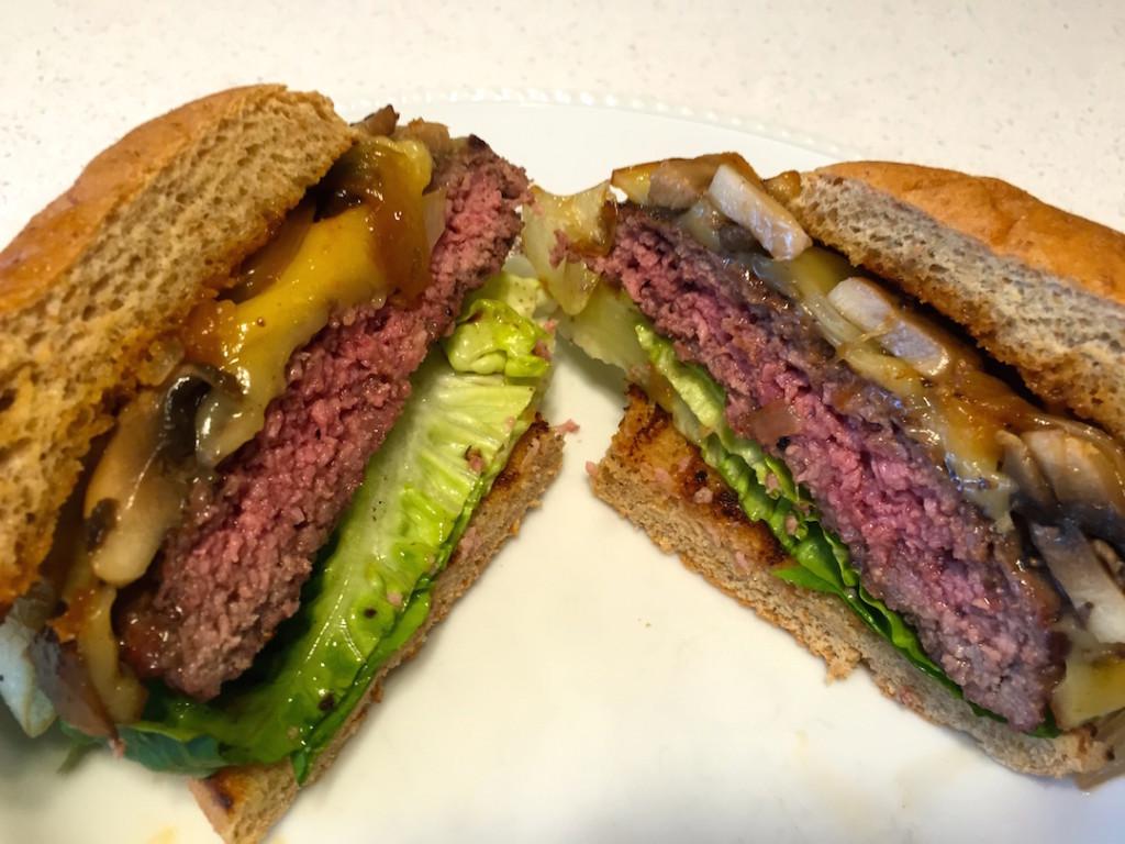 steak house cheese burger