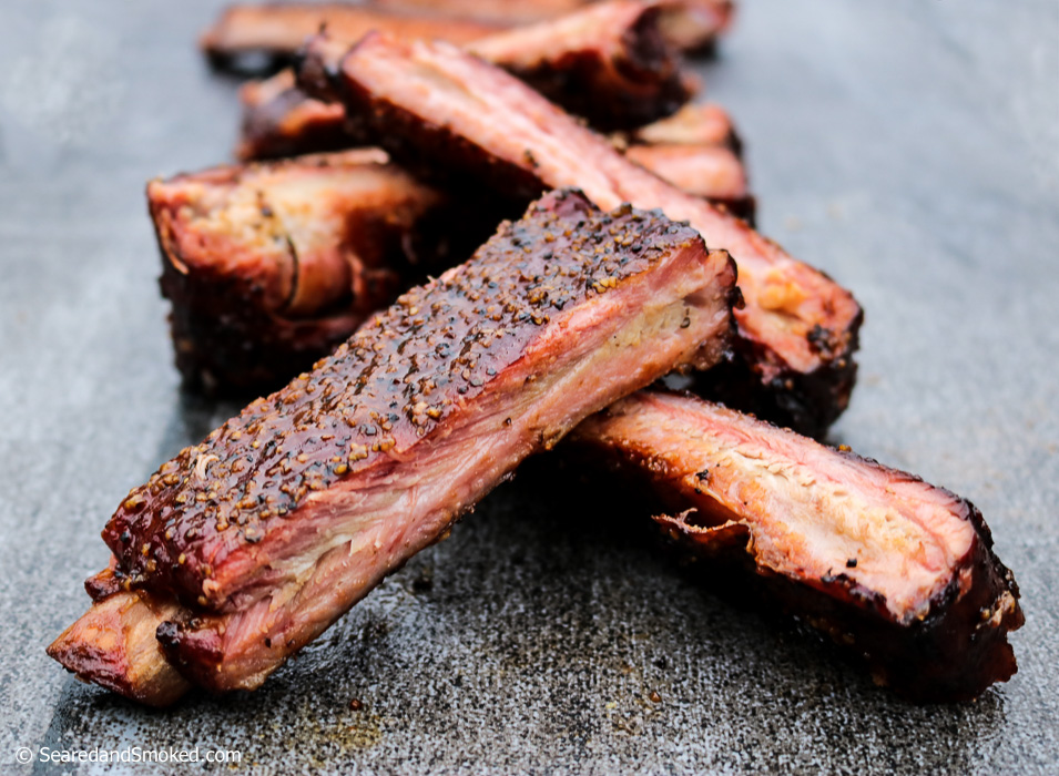 St Louis Spare Ribs Aaron Franklin Style Seared And