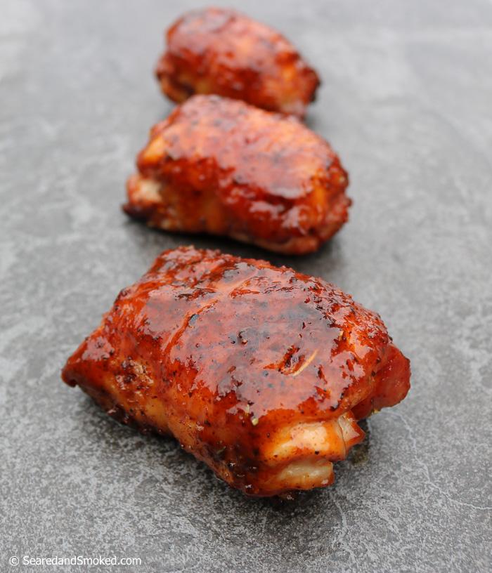smoked boneless chicken thighs