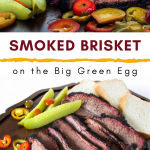 Smoked Brisket on the Big Green