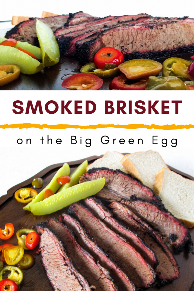 Smoked Brisket on the Big Green