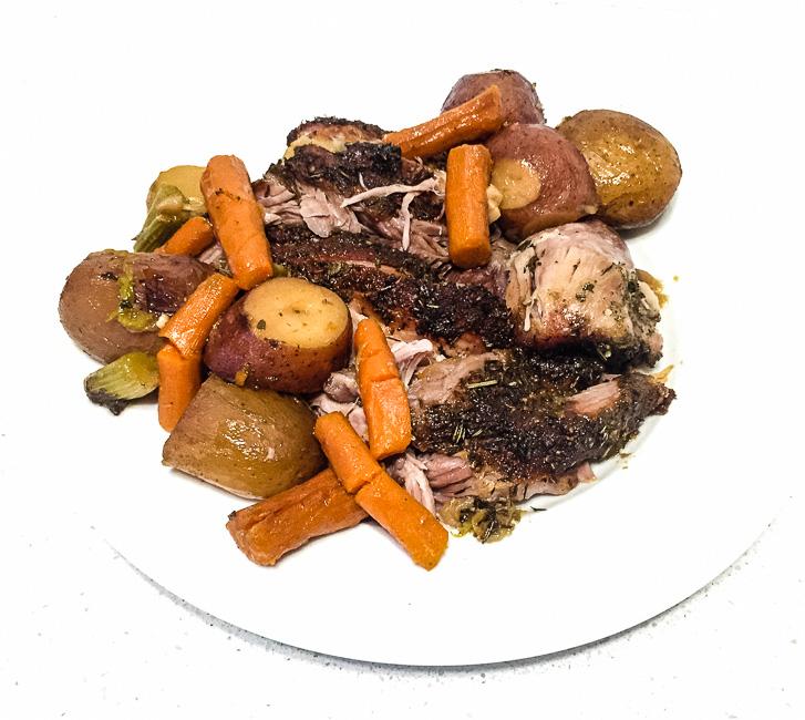 oven roasted pork shoulder