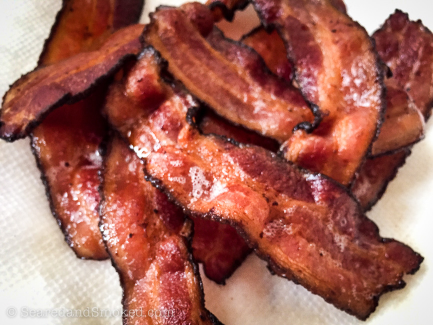 Perfect Pan Fried Bacon