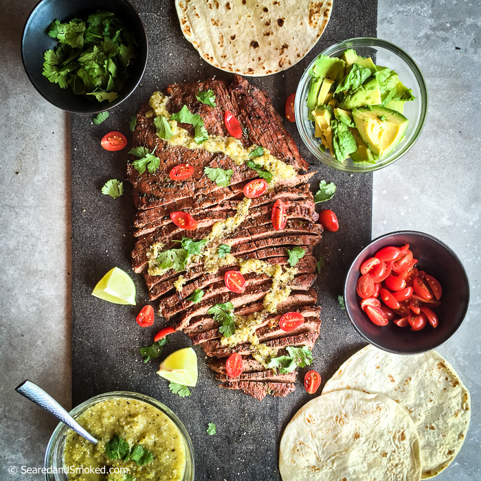 carne asada steak tacos
