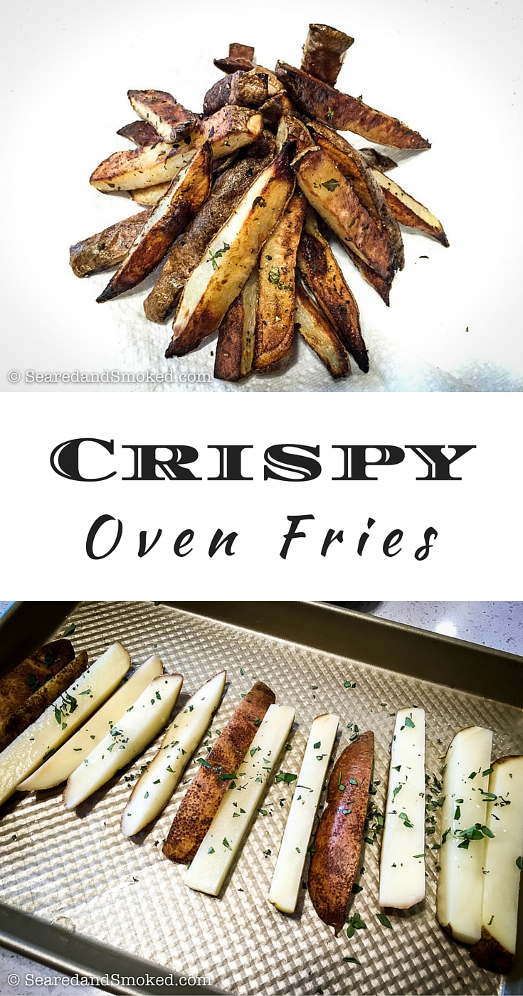 oven crispy fries