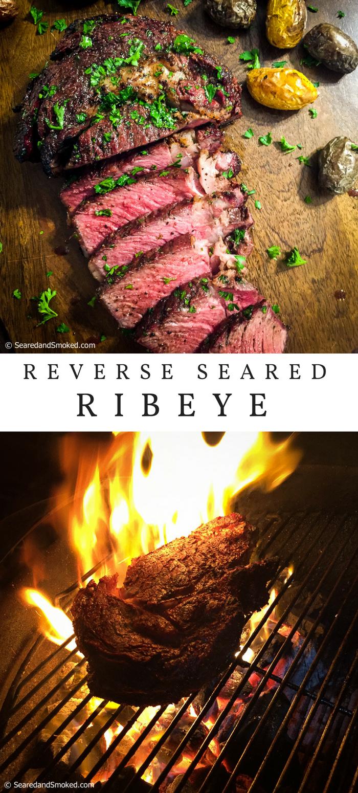 reverse seared ribeye