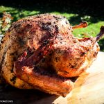 brined and smoked turkey