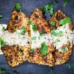 cajun chicken breasts with white wine cream sauce