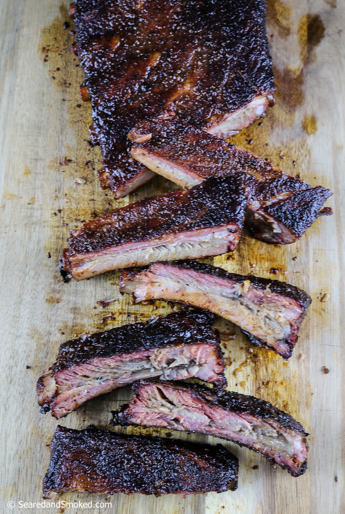 smoked pork ribs hot and fast