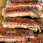 cajun honey glazed st louis pork ribs