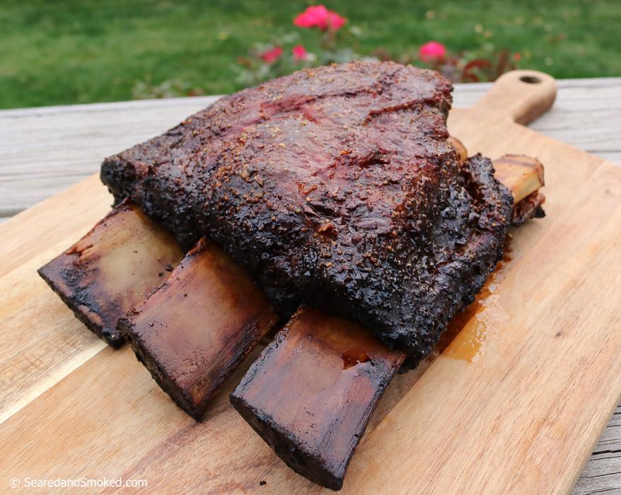 sriracha smoked beef ribs