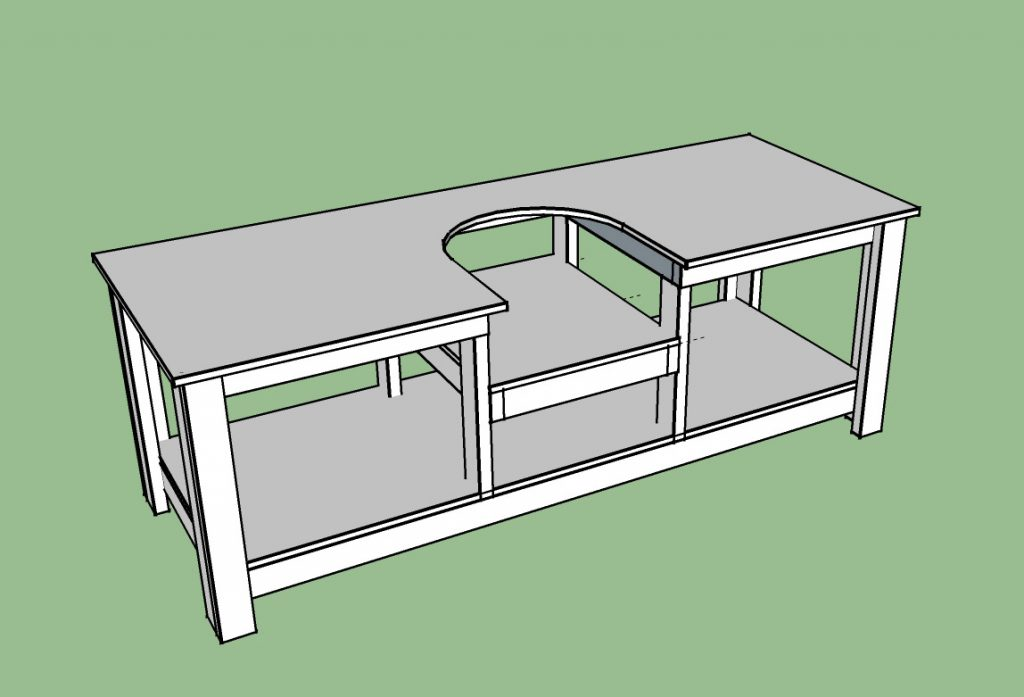 Build Your Own Living Room Table