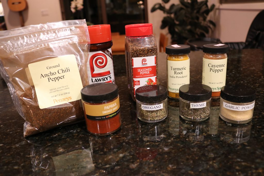 oven fried chicken seasoning